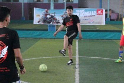 Kompetisi Futsal AHM - Honda Sonic Team