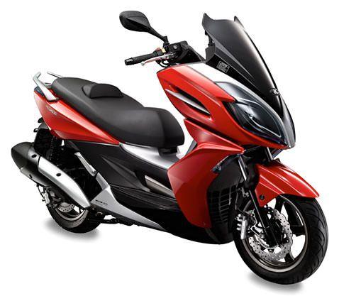 Kymco K-XCT 200i Vivid Red