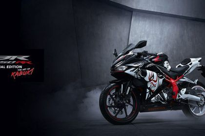 New Honda CBR250RR Special Edition - Tema The Art of Kabuki