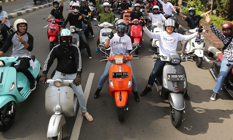 Vespa Tur 2016 - Jakarta Indonesia