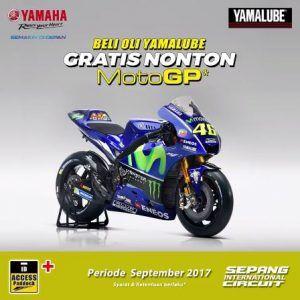 Undian Yamalube - Tiket Gratis Nonton MotoGP di Sepang