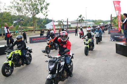 Honda Asian Journey - Big Bike Tour Malaysia 2017