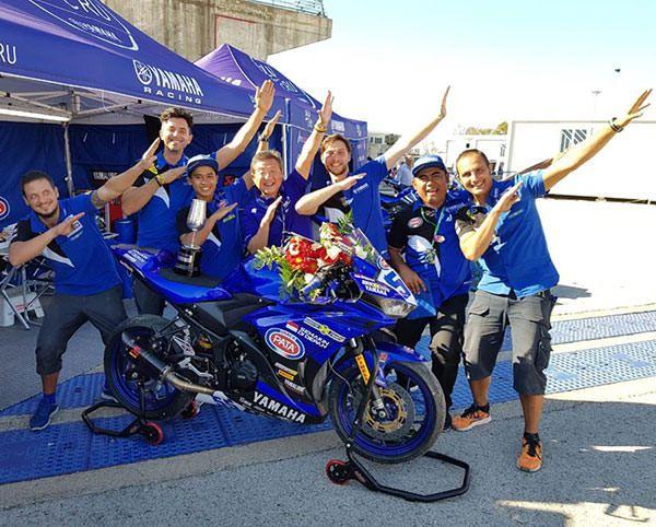 Pembalap Yamaha Racing Indonesia - Galang Hendra