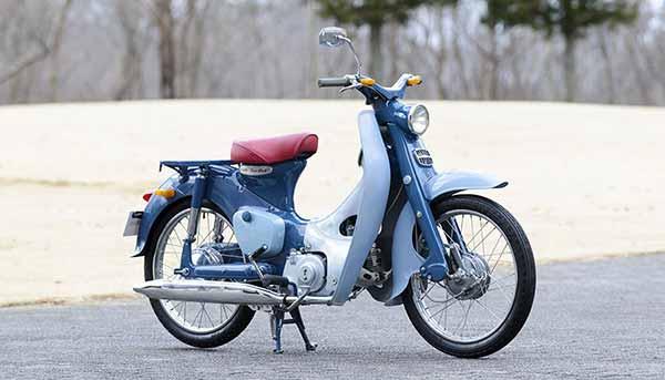 Honda Super Cub C100 Tahun 1958