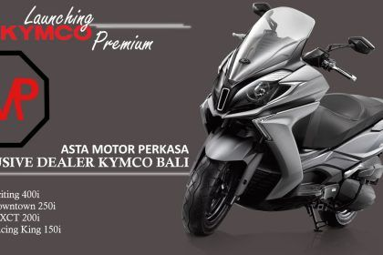 launching kymco premium bali asta motor perkasa