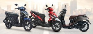 motor matic terlaris 2017