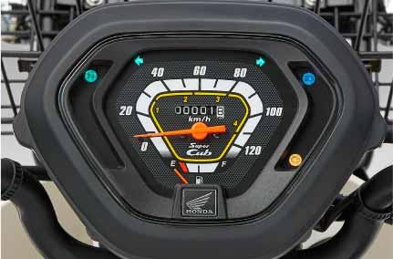 Honda Super Cub Pro - Speedometer