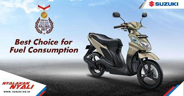 Suzuki Nex Fi - Motor Matic Paling Irit dan Murah