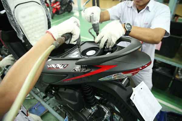 Honda Vario eSP Baru - Bagasi