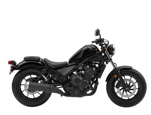 Honda Rebel CMX500 - Graphite Black