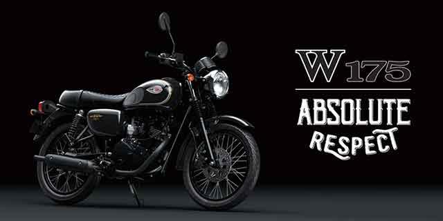 Kawasaki W175 - Motor Baru 2018