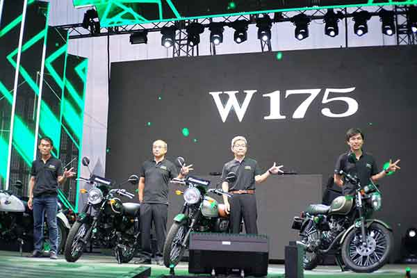 Launching Kawasaki W175 - Naked Bike Retro