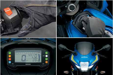 Suzuki GSX-R150 - Fitur-fitur