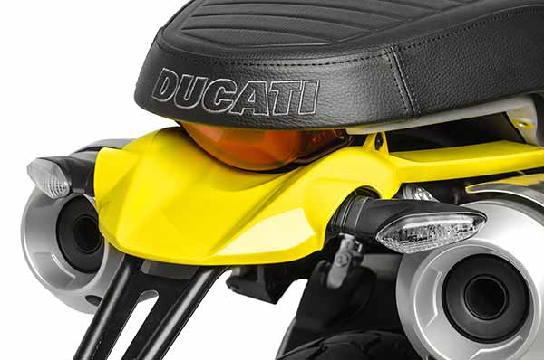 Ducati Scrambler 1100 2018 - Detail Belakang