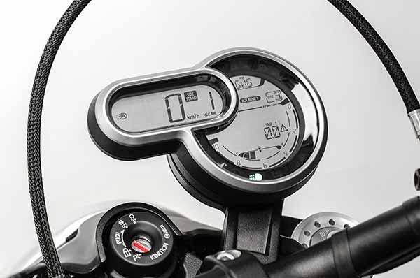 Ducati Scrambler 1100 2018 - Panel Instrumen