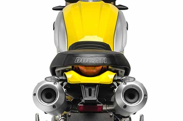 Ducati Scrambler 1100 2018 - Knalpot