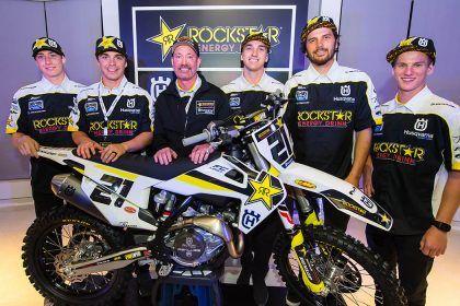 Pebalap Rockstar Energy Husqvarna Factory Racing