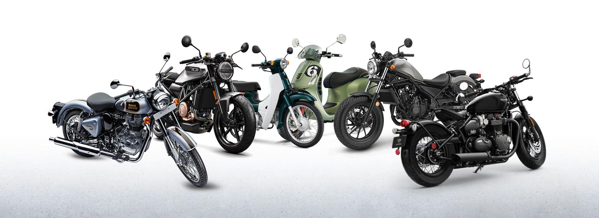 Ini Dia Pilihan Motor Motor Retro Klasik Terbaru 2018