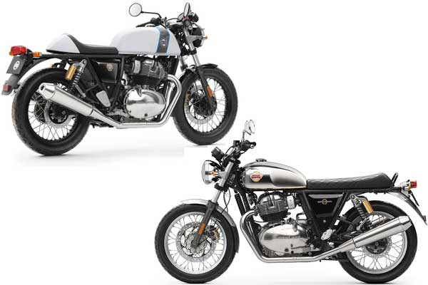 Motor Baru Royal Enfield - Continental GT 650, Interceptor 650