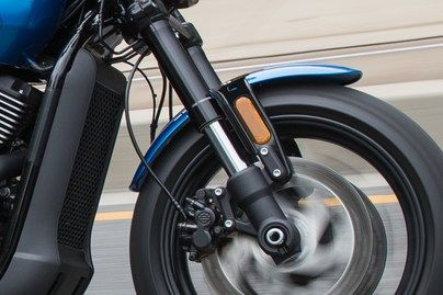 Harley Davidson Street Rod - Spatbor