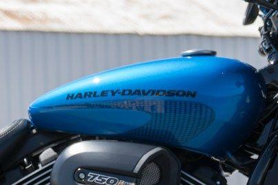 Harley Davidson Street Rod - Tank