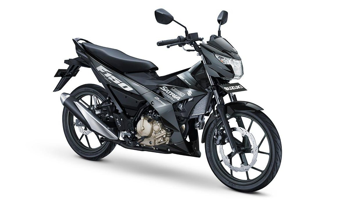 all new satria f150 black