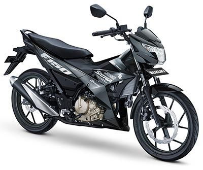 suzuki all new satria f150 black