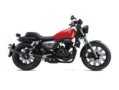 Benelli Motobi 200 EVO - Red