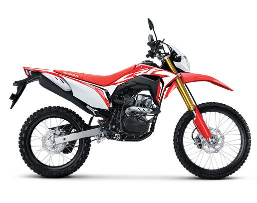 Honda CRF150L - Extreme Red