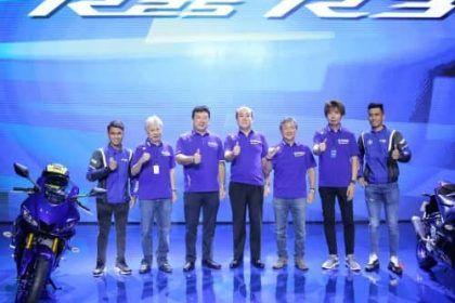 Unveiling Yamaha R25 dan R3 Generasi Terbaru 2018