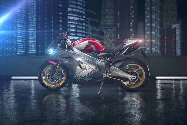 Kymco Electric Supersport Motorcycle