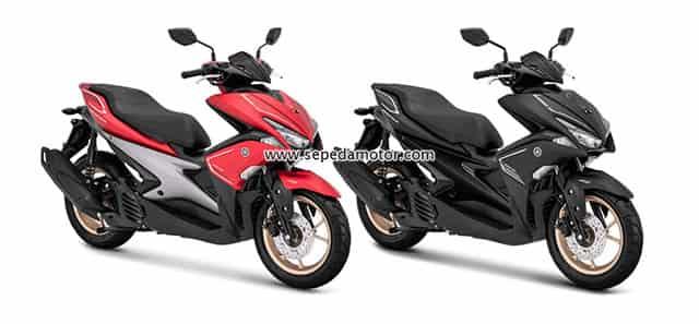 Yamaha Aerox 155 S Warna Baru