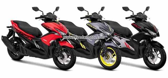 Yamaha Aerox 155 Standard Warna Baru