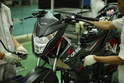 Honda Sonic 150R stripe baru