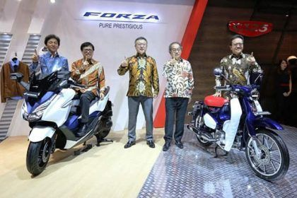 Motor premium Honda di GIIAS 2018