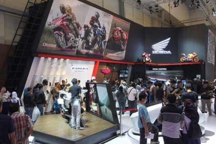 Booth Honda di GIIAS 2018