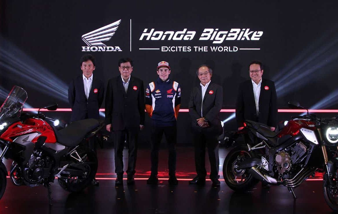 Peluncuran Motor Neo Sports Cafe dan Big Bike Honda