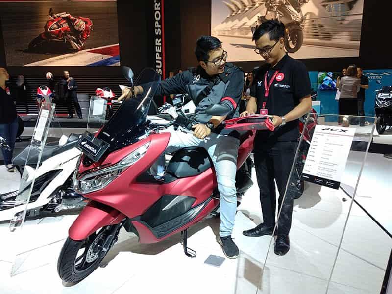 Honda PCX 150 - IMOS 2018