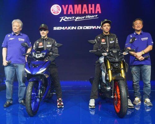 Valentino Rossi Dan Maverick Vinales Kenalkan Dua Motor