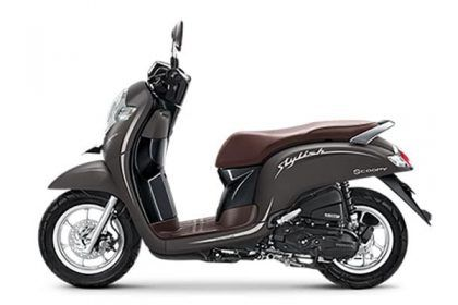 New Honda Scoopy 2019 - Stylish Matte Brown