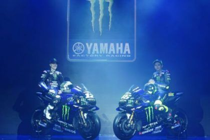 Monster Energy MotoGp Team - Livery Warna Baru M1