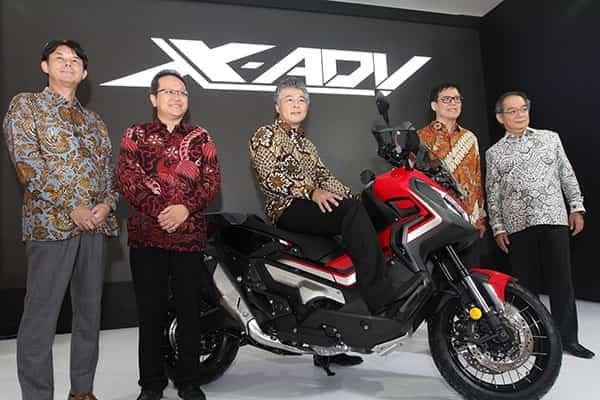 Peluncuran Honda X-Adv di IIMS 2019