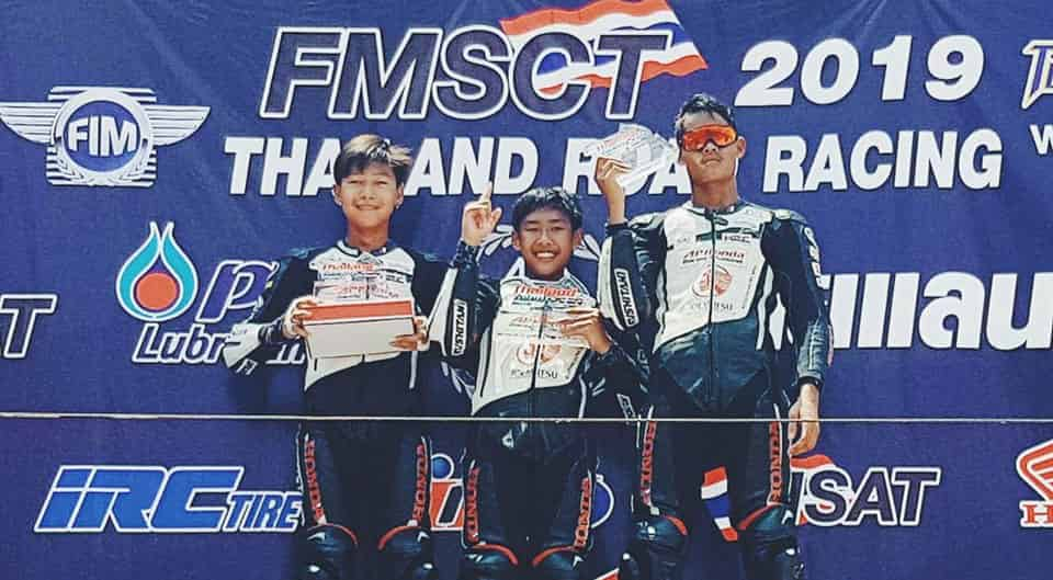 Thailand Talent Cup 2019 - Podium