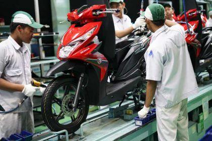 Produksi Sepeda Motor Honda