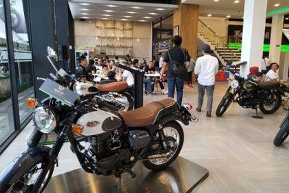 Showroom Kawasaki di Pekanbaru - Kawasaki Greentech