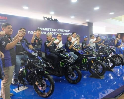 Launching Motor Baru Livery Monster Energy Yamaha MotoGP Edition